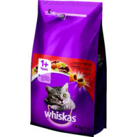 WHISKAS DRY ADULT GOVEDEINA 1,4KG 6X1