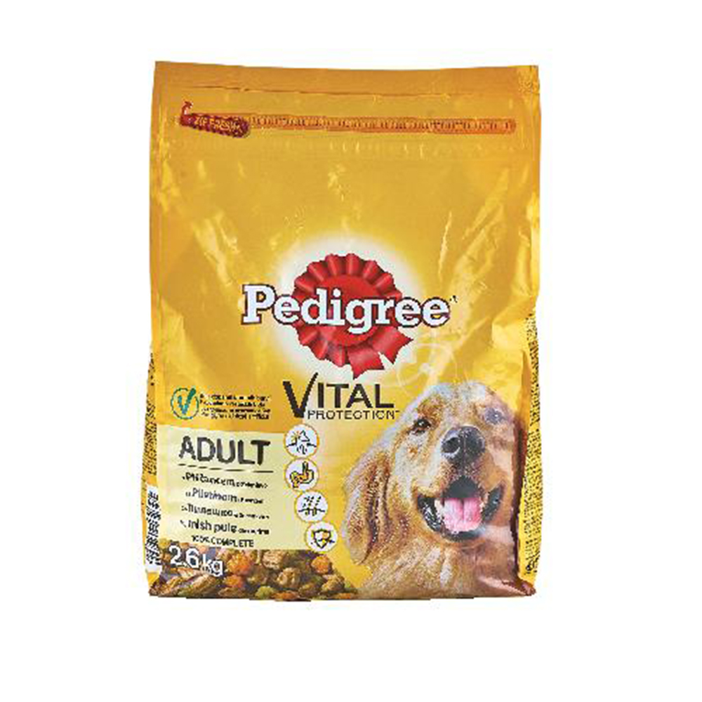 PEDIGREE DRY ADULT  PER/ZEL2,6kg  ORBICO